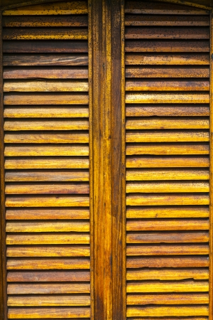 Old Wooden Window photo