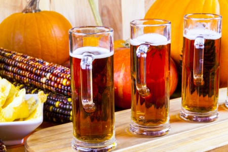 Beer Flight Stock Photo - 23356569