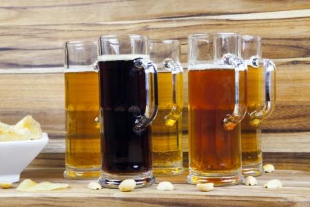 Beer Flight Stock Photo - 23356592