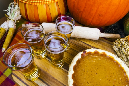 beer fest: Beer Flight With Pumpkin Pie