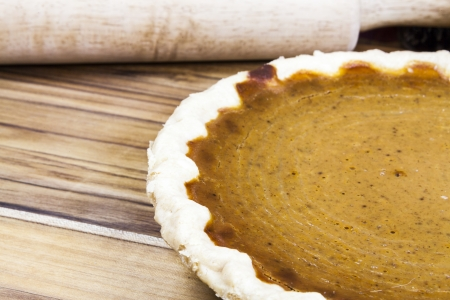 Homemade Pumpkin Pie photo