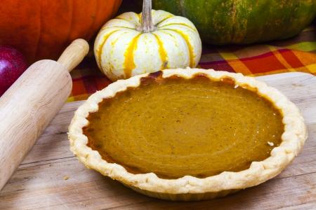 Homemade Pumpkin Pie photo