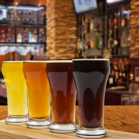 Beer Flight Stock Photo - 24945581