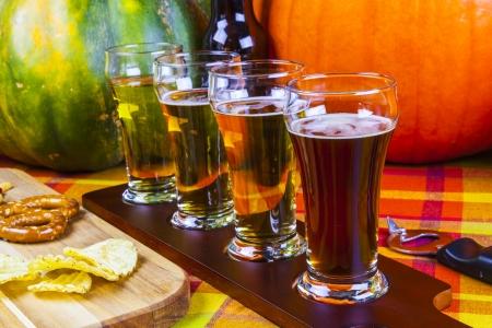Beer Flight Stock Photo - 24951526