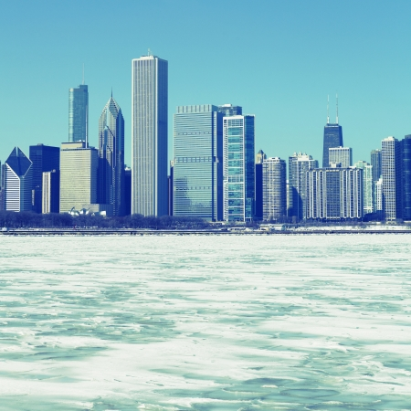 Winter In Chicago photo