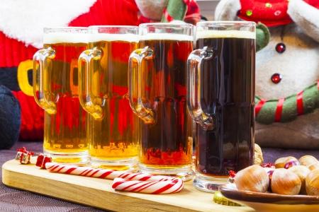 Christmas Beer Flight photo