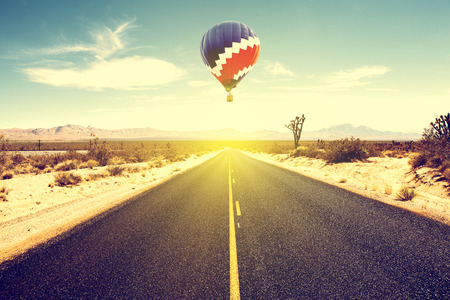 Route 66 With Balloon