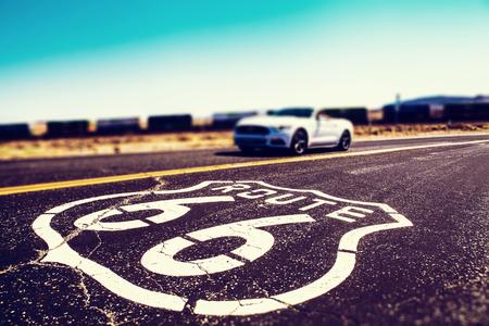 Route 66 in California