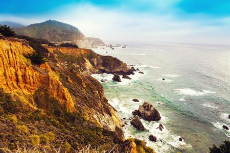 Big Sur in California 版權商用圖片