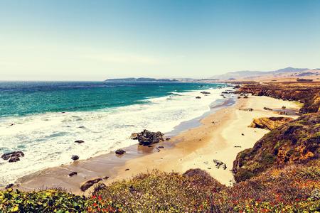 sur: Big Sur in California Stock Photo