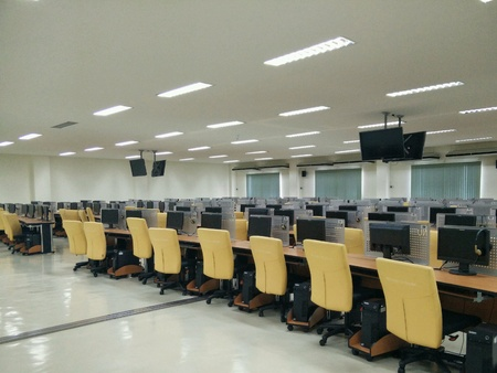 interior: Computer lab in University