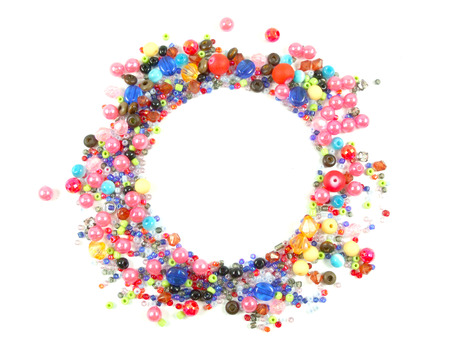 Collection of Colorful Beads Decoration photo