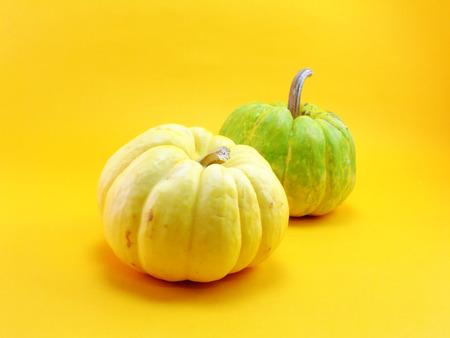 pumkin: pumkin on yellow background