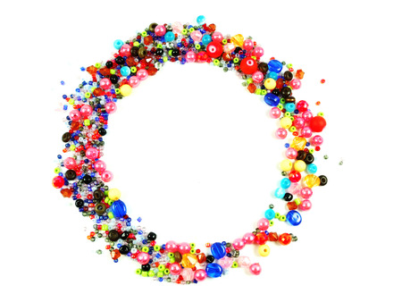 colorful beads: Collection of Colorful Beads Decoration