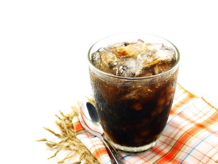 healthy grains: Drink herbal tea Mixed healthy grains