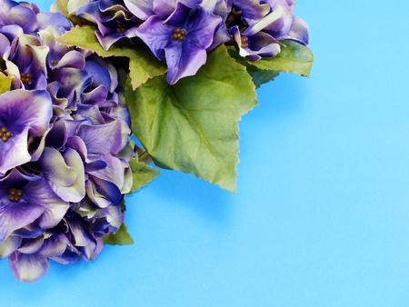 artificial flower: beautiful hydrangea artificial flower bouquet