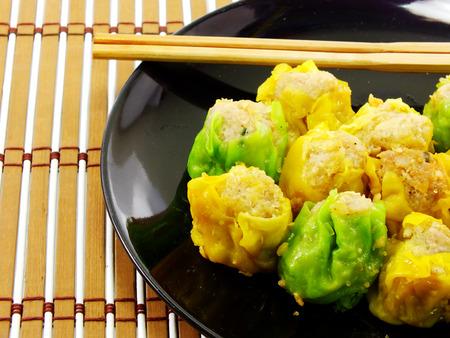 sum: shumai dumplings dim sum