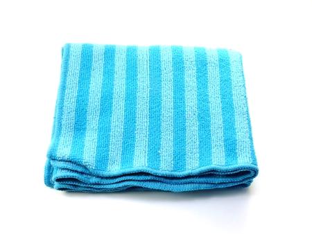 dust remover microfiber fabric Stock Photo