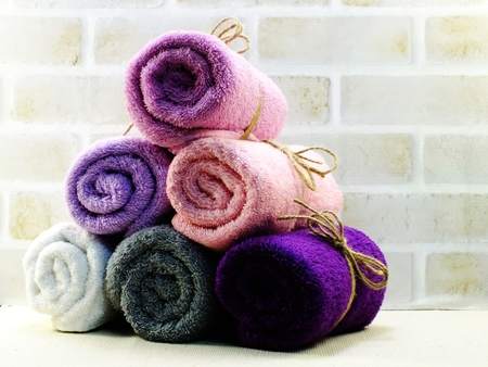 convolute: roll of towel