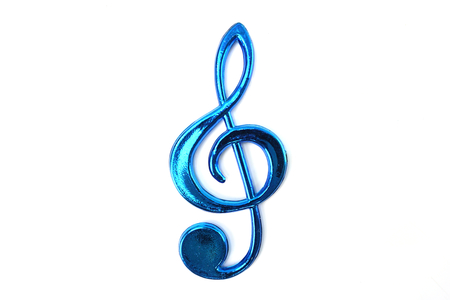 music note isolated on white background