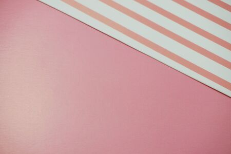 Geometric with pink and pink stripe texture background