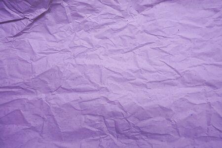Purple crumpled paper empty background Stockfoto