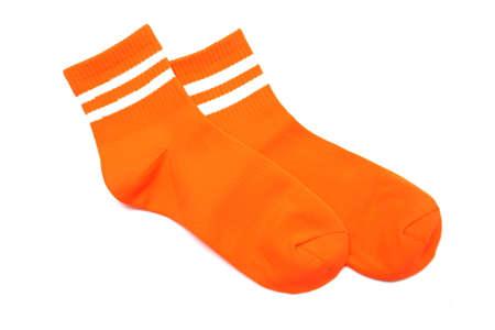 soccer socks isolated on white background
