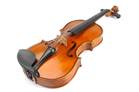 tunes: violin Stock Photo