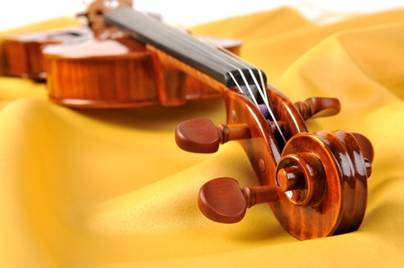 head violin Stock Photo - 10758552