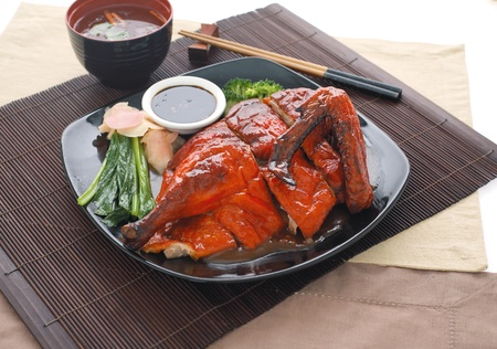 Peking Duck, China's most famous dish Stock Photo - 10768917