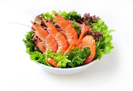 shrimp salad Stock Photo - 10830863