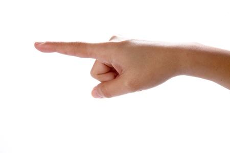 hand touching screen Stock Photo - 10905092