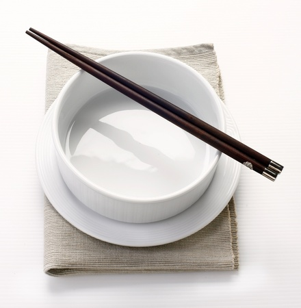 bowl and chopstick photo