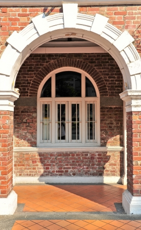 A roman style building with columns   Stock Photo - 15142035