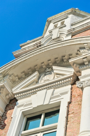A roman style building with columns   Stock Photo - 15142000