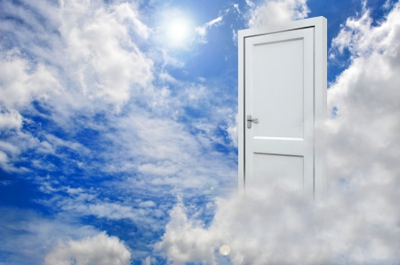 Door to new world  Stock Photo - 15245160