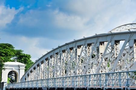 Elgin Bridge and the Singapore River  Stock Photo - 15245239