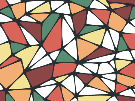 multicolored background: Abstract Triangle Geometrical Multicolored Background