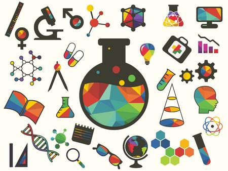 beaker: ilustraci�n del icono de vaso de precipitados