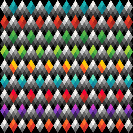 Abstract triangle Multicolored Background