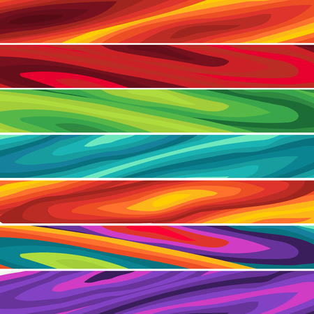 Abstract wave  Multicolored Background