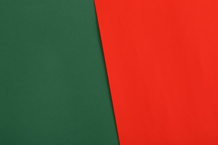 red and green paper background
