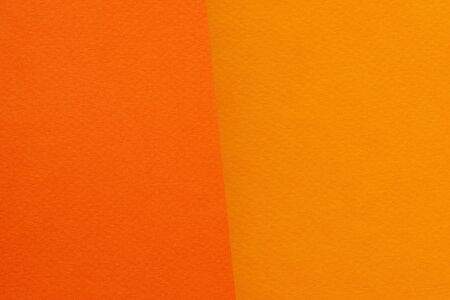 two colors orange paper background