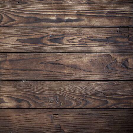 old wooden dark striped background Stock Photo