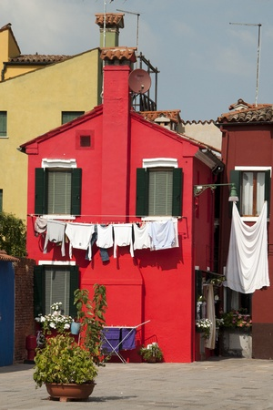 Burano: Colorful houses in Burano
