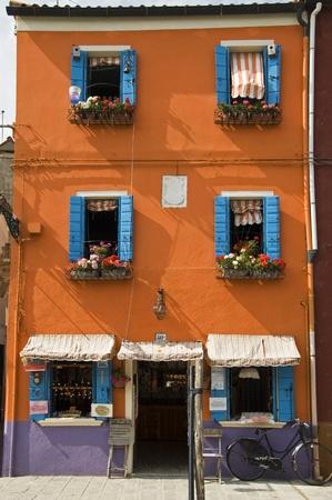case colorate: Case colorate di Burano Editoriali