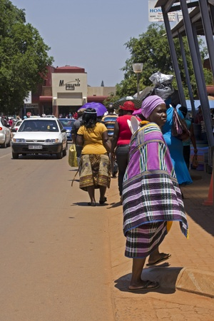 Woman in Venda look in South Africa