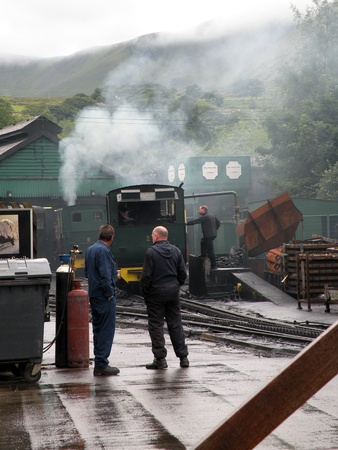 loco: Working at the steam train