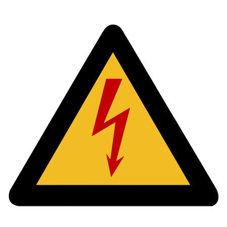 trespass: Electricity warning sign