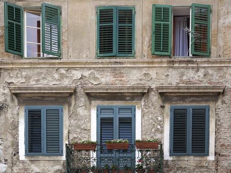 croatian: Facade of a Croatian house